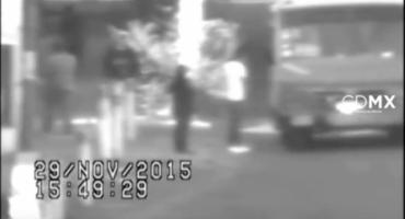 Un video capta asalto a microbús en la zona centro del D.F.