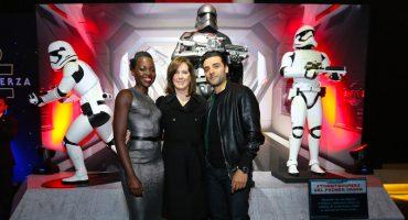 Así fue la alfombra negra de Star Wars: The Force Awakens en México
