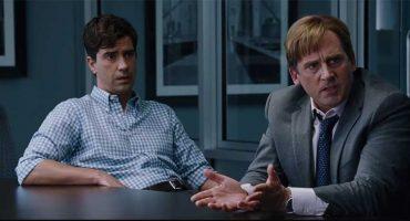 """Brad Pitt y Steve Carell en exclusiva para """"The Big Short"""""""