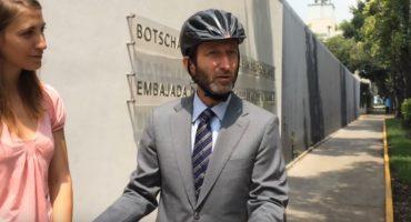 DF: Roban bicicleta valuada en 40 mil pesos a embajador alemán