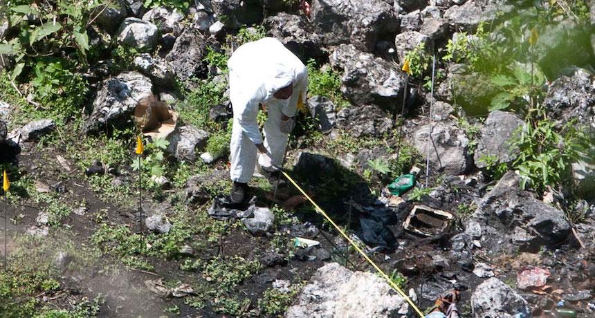 La UNAM avala la versión de lluvia en el basurero de Cocula