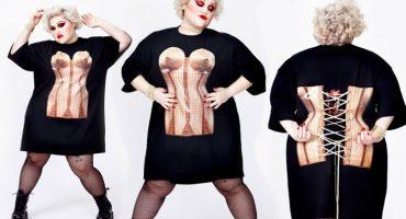 Beth Ditto lanza línea de ropa extra grande junto al diseñador Jean Paul Gaultier