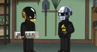 Por si se lo perdieron, chequen la aparición de Daft Punk en Family Guy