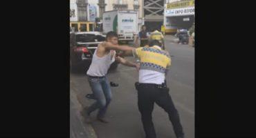Agentes de tránsito aprenderán a defenderse de automovilistas iracundos