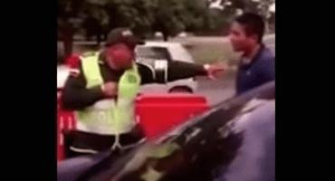 Un policía colombiano nos muestra su técnica súper efectiva de Kung Fu