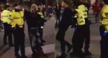 Detienen a dos jugadores del PSV por formar parte de una pelea