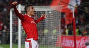 Mira el quinto gol de Raúl Jiménez con el Benfica