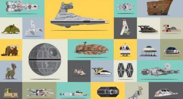 Un video muestra el tamaño de cada nave en el universo de Star Wars