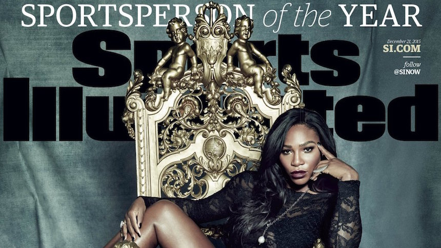 Serena Williams es el Personaje Deportivo del Año para Sports Illustrated