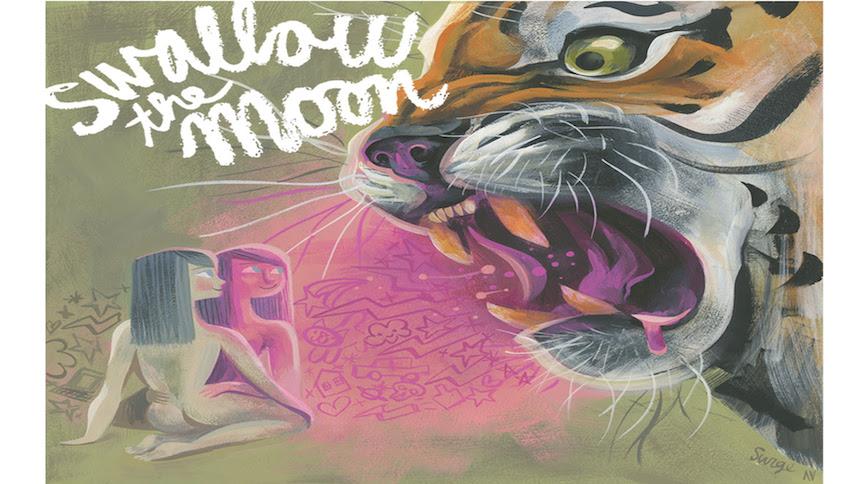 Llega 'Swallow the Moon' a Gurú Galería