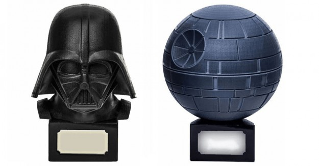 WTF!!?? Urnas funerarias con la figura de Darth Vader y la Estrella de la Muerte