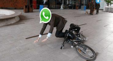 A pocas horas del año nuevo se cae  Whatsapp