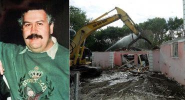 Aquí la historia de por qué demolieron la mansión de Pablo Escobar en Miami