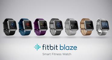Conozcan Blaze, el nuevo smartwatch de Fitbit con batería que dura hasta cinco días