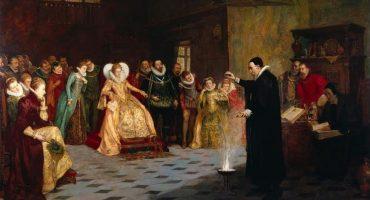 Descubren un círculo de cráneos en pintura de la corte de Isabel I
