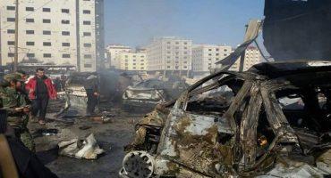 Atentado en Damasco deja al menos 58 muertos y más de 110 heridos