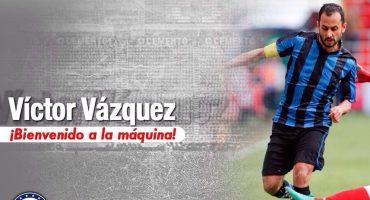 Es oficial: Víctor Vázquez ya es futbolista de Cruz Azul
