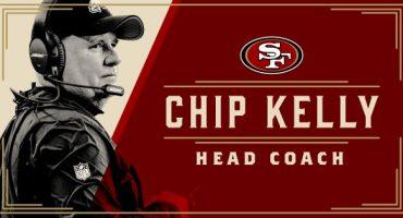 Chip Kelly es el nuevo head coach de los 49ers