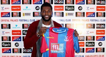 Adebayor dice que no sabe nada sobre su nuevo club el Crystal Palace, pero lo buscará en internet