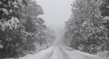 El valle de México se pinta de blanco, aquí las primeras imágenes de la nieve de hoy