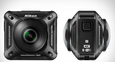 CES 2016: La diminuta cámara de Nikon ¡que graba 360 grados y en 4K!