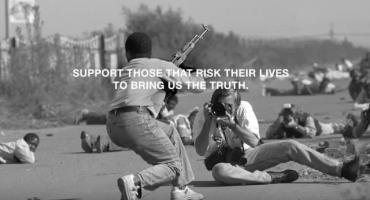 Video homenajea el trabajo de los reporteros de guerra