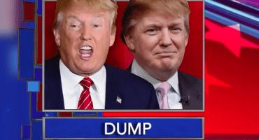 Donald Trump vs Donald Trump ¿Quién sería el ganador de tal debate?