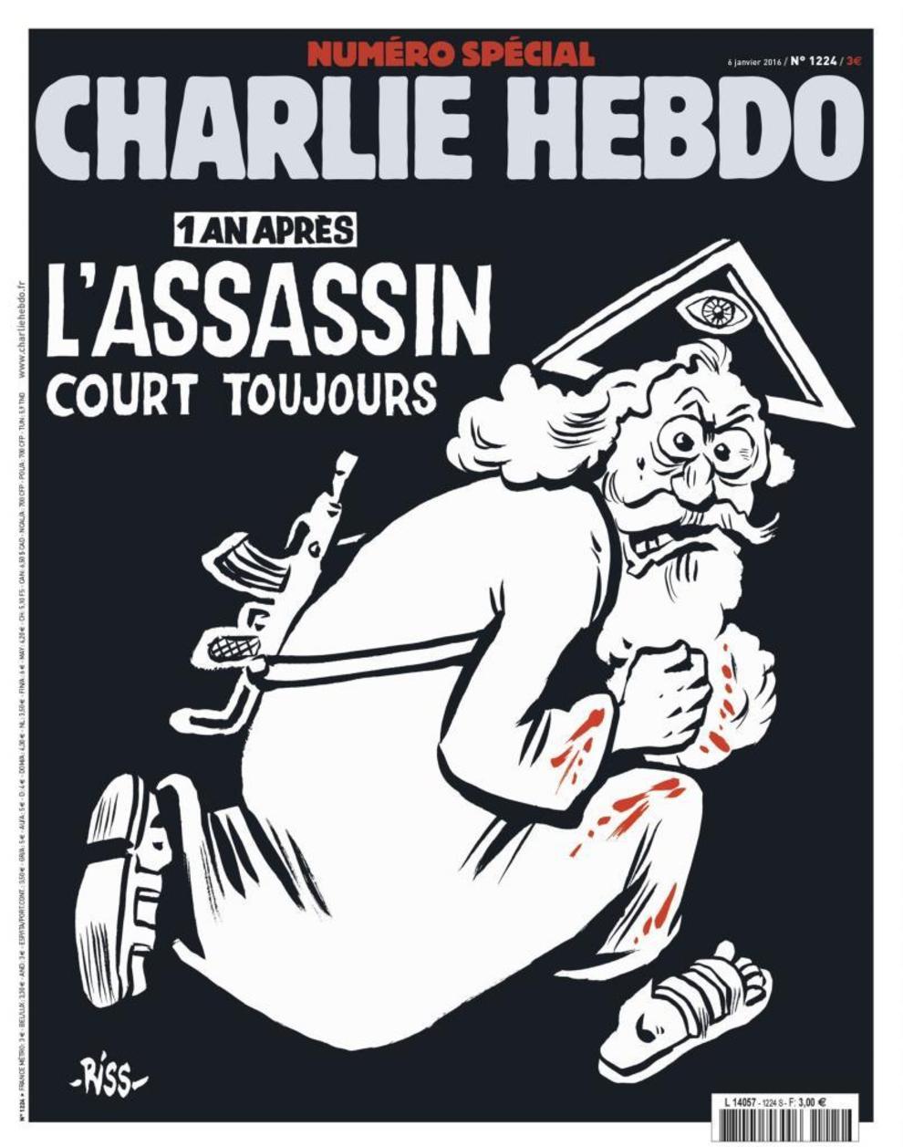 A un año del ataque contra Charlie Hebdo,
