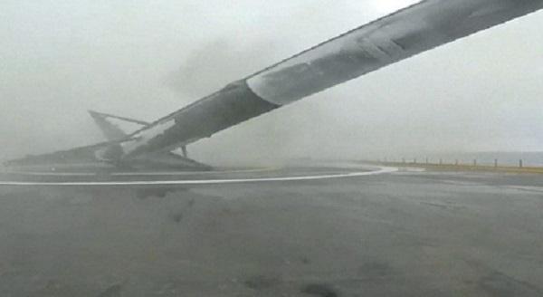 Video: Cohete de SpaceX explota luego de aterrizaje