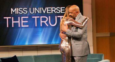 El inevitable reencuentro de Steve Harvey con Miss Colombia