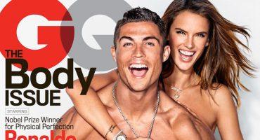 Cristiano Ronaldo y Alessandra Ambrosio comparten portada de GQ