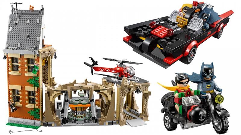 Lego muestra imagenes de la baticueva estilo 60's y es lo mejor del mundo