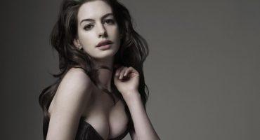 Anne Hathaway le roba la foto del año a los paparazzis