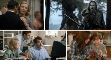 Mira los trailers de las películas más nominadas a los Premios Oscar 2016