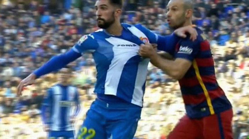 Joma utilizó el jaloneo entre Mascherano y Álvaro para promocionarse