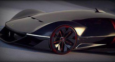 Así es como podría lucir el Ferrari del futuro