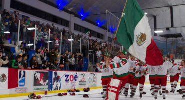 México ganó el Mundial sub20 de hockey sobre hielo