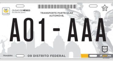 Miguel Angel Mancera, anuncia cambio de placas en autos de la Ciudad de México