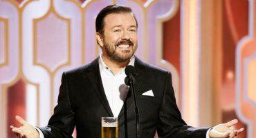 Ricky Gervais defiende la broma que hizo sobre Caitlyn Jenner en los Globos de Oro