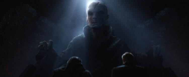 Nueva fan theory de Star Wars: The Force Awakens habla de la verdadera identidad de Snoke