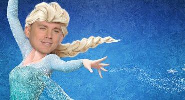 WTF?!?! Channing Tatum se transforma en Elsa de Frozen