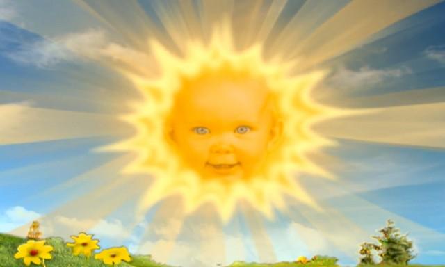 El sol de los Teletubbies cumplió 19 años y así es como se ve