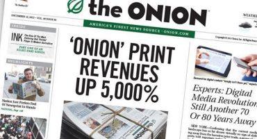 El diario satírico The Onion ha sido comprado por Univisión