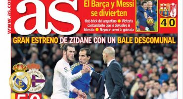 Así amanecieron las portadas deportivas con el triunfo de Zidane