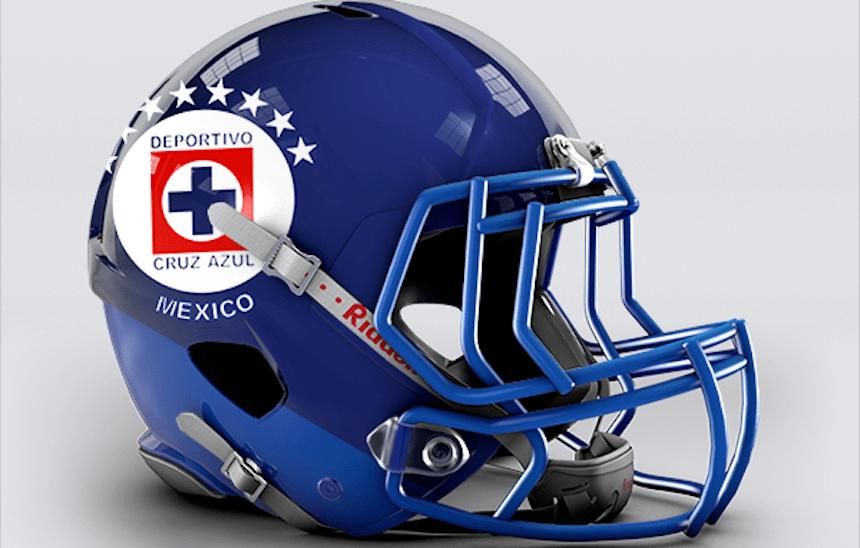 Los equipos de la Liga MX en cascos de futbol americano