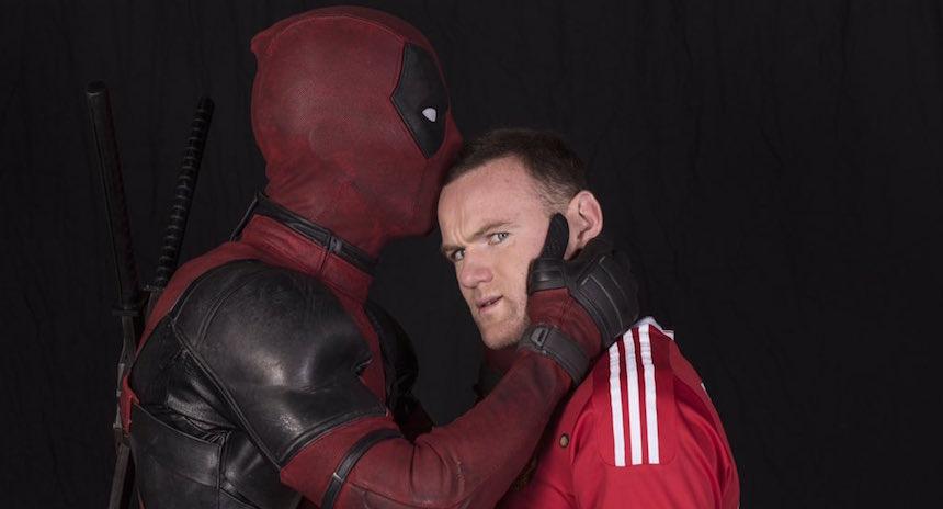 Ahora Deadpool sueña con jugar con el Manchester United
