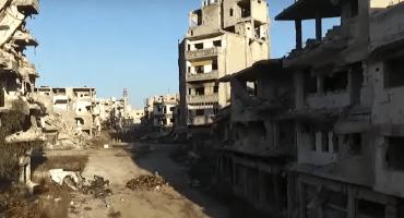 Un video muestra la devastación de la guerra en Siria