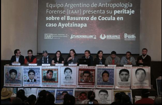 Peritos Argentinos: no hay pruebas de que estudiantes hayan sido incinerados en Cocula