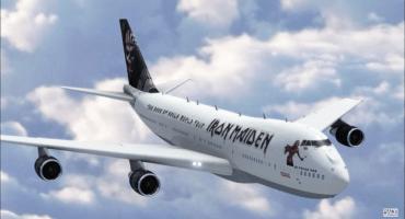 Bruce Dickinson te invita a conocer el interior del nuevo avión de Iron Maiden