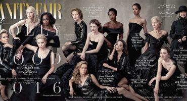 La nueva portada de Vanity Fair y su mensaje a los premios Oscar